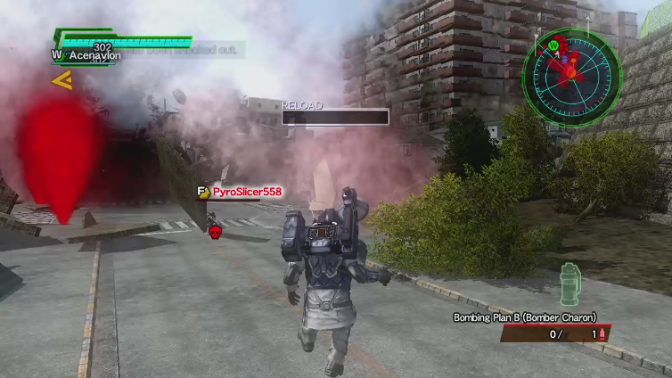 Heisenbee playing Earth Defense Force 2025