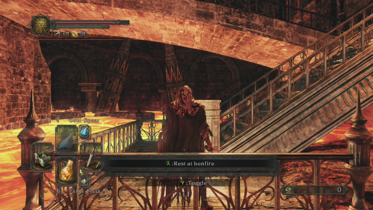 SavageExcrement playing Dark Souls II: Scholar of the First Sin