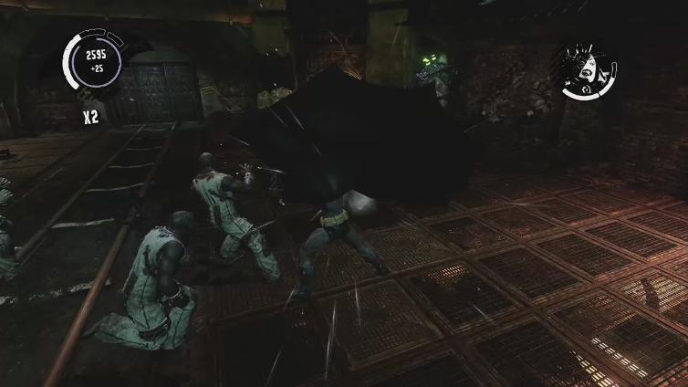 DefaIts playing Batman: Arkham Asylum