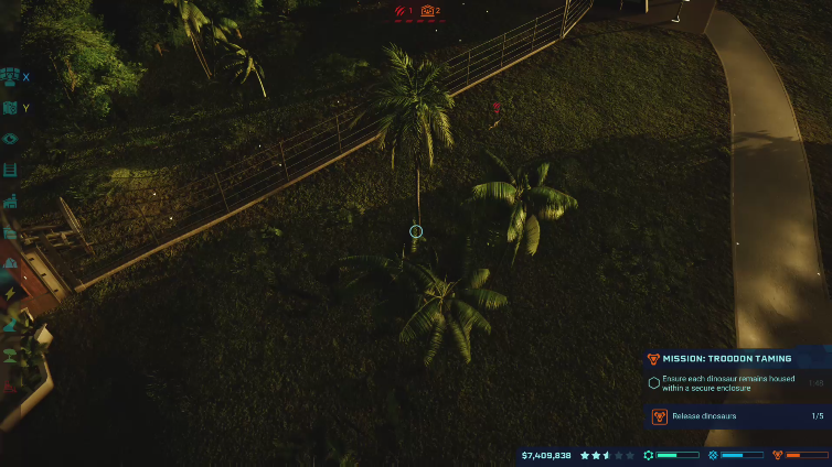 xPut Name Herex playing Jurassic World Evolution